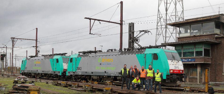 Werknemers Lineas lanceren ecodriving voor goederenvervoer